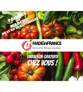 Panier du marché mini LIVRAISON du 15 au 19 septembre
