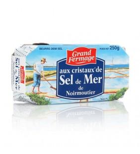 BEURRE DEMI-SEL DE MER DE NOIREMOUTIER-250G