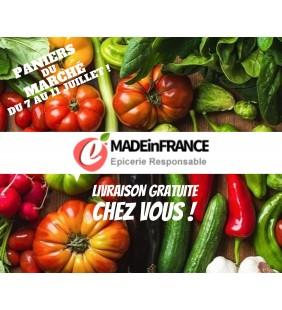 Panier du marché mini LIVRAISON du 7 au 11 juillet